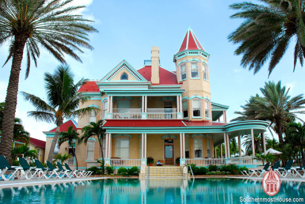 The Southernmost House Is A Museum And Historic Inn On Ocean In Key West Florida It Situated Upper Duval District Very Near